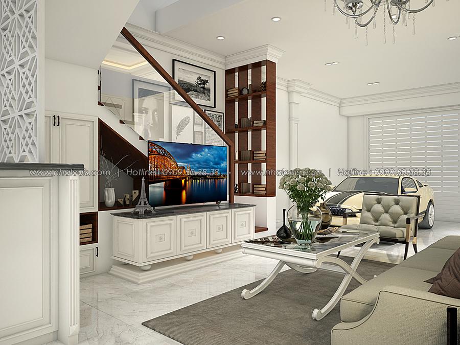 Thiết kế nhà tân cổ điển 2 tầng tại Bình Dương đẹp sửng sốt - 06