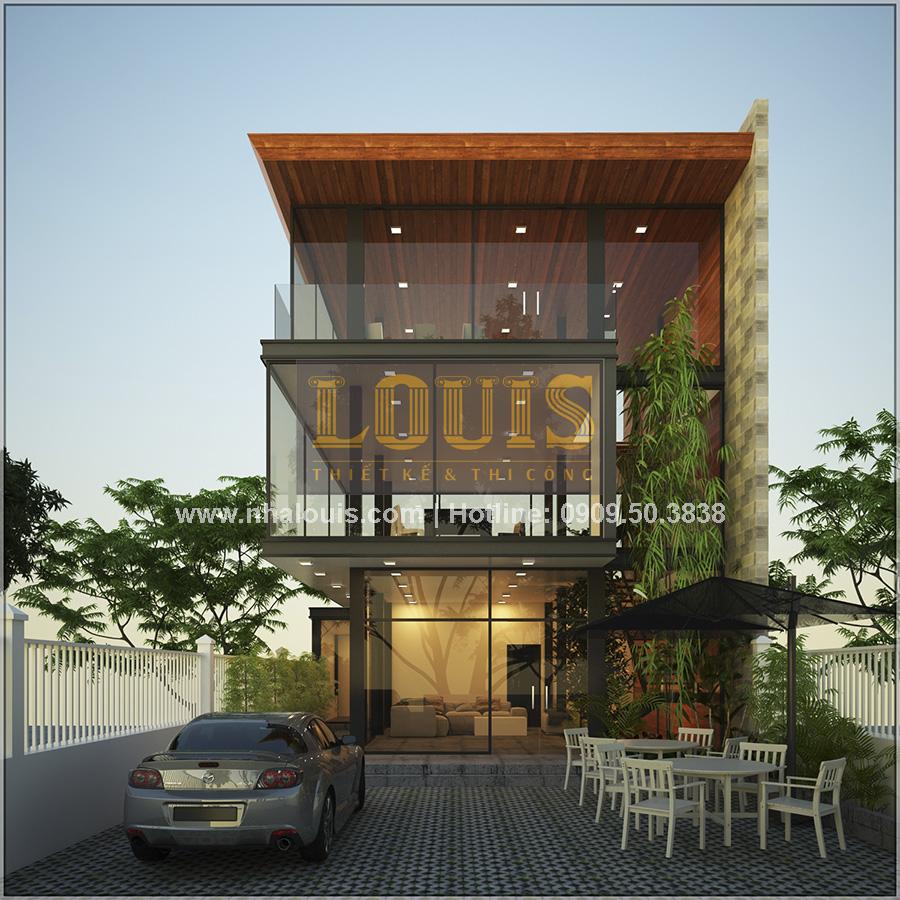 Thiết kế văn phòng hiện đại tại Bình Dương với phong cách mở - 01
