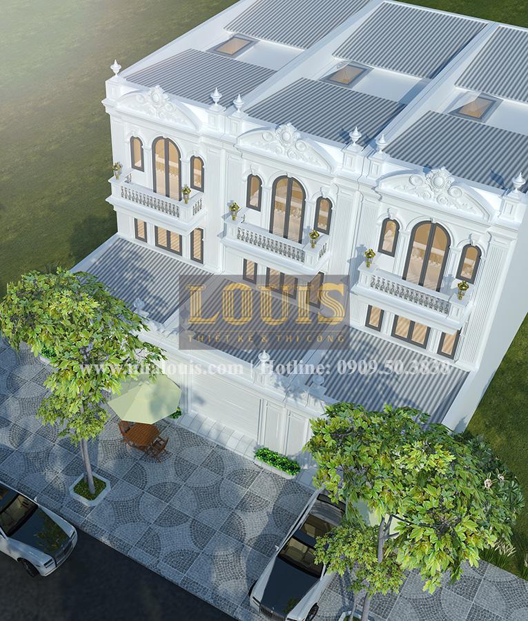 Tư vấn thiết kế mẫu nhà liền kề ở Bình Dương theo phong cách cổ điển - 02