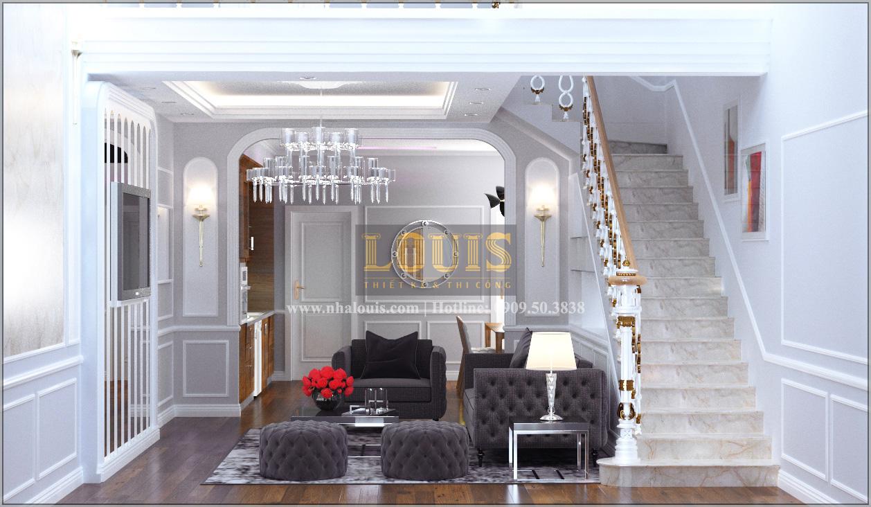 Tư vấn thiết kế mẫu nhà liền kề ở Bình Dương theo phong cách cổ điển - 06