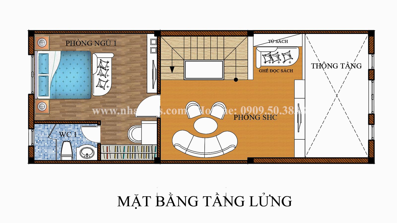 Tư vấn thiết kế mẫu nhà liền kề ở Bình Dương theo phong cách cổ điển - 07
