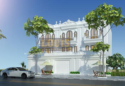 Tư vấn thiết kế mẫu nhà liền kề ở Bình Dương theo phong cách cổ điển