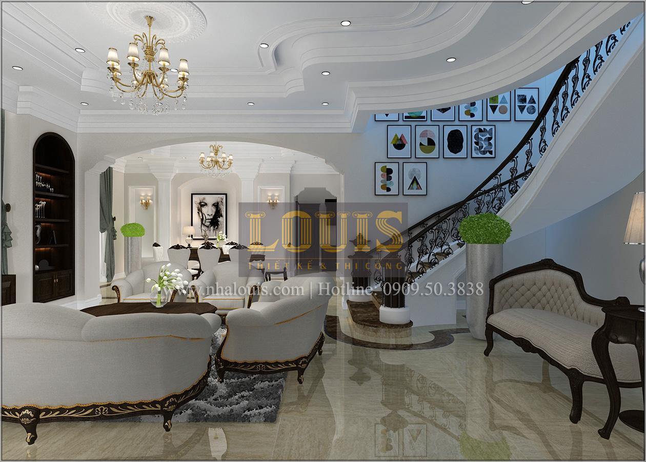 Biệt thự cổ điển 2 tầng tại Bình Dương đẹp sang chảnh độc đáo - 06