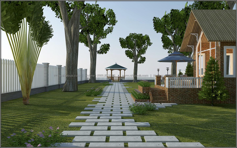 Cần rất nhiều yếu tố để có một thiết kế biệt thự vườn hoàn hảo