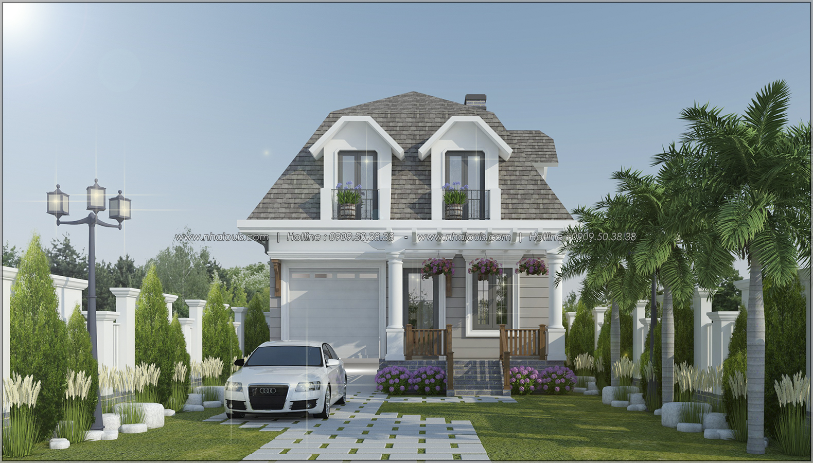 Thiết kế nội thất biệt thự đẹp tạo nên không gian sống hoàn mỹ - 01