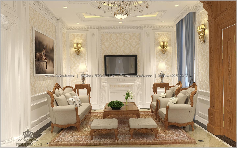 Thiết kế nội thất biệt thự đẹp tạo nên không gian sống hoàn mỹ - 03