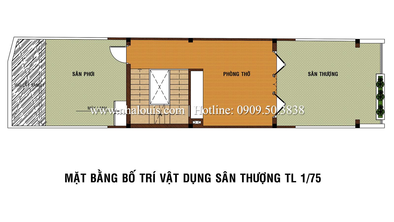 Tư vấn thiết kế nhà phố hiện đại 5 tầng sang chảnh tại quận Tân Phú - 05