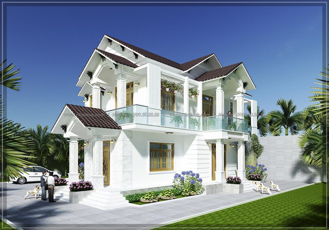 Biệt thự mái ngói và những điều cần biết trước khi xây dựng