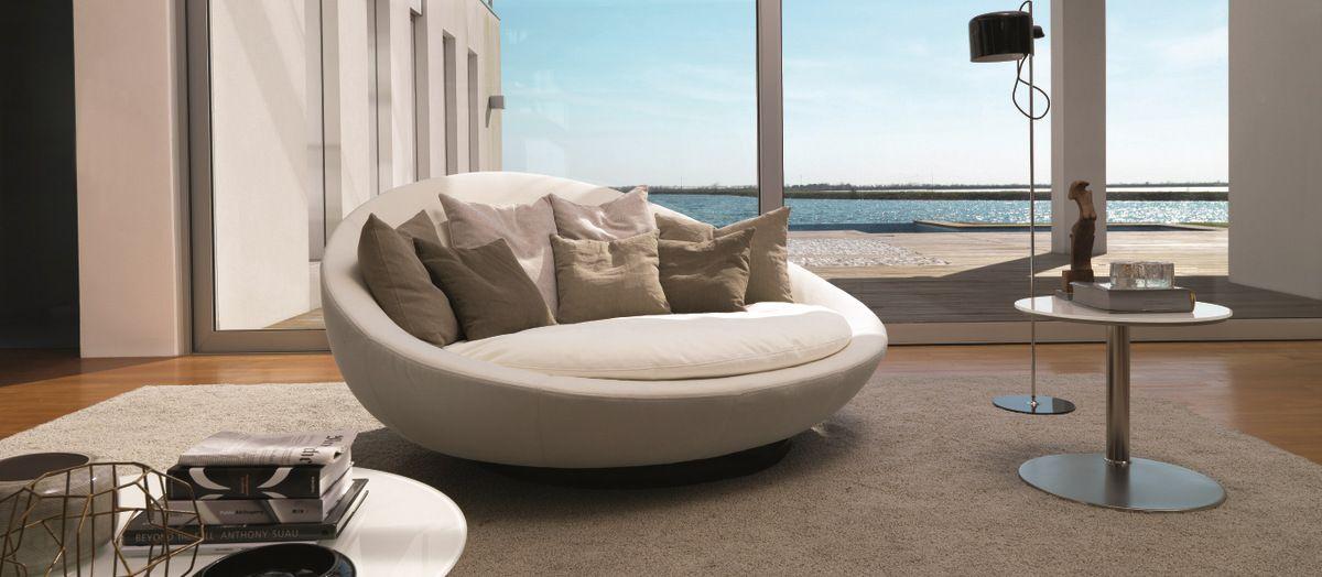 Những mẫu ghế sofa tròn vừa chất, vừa thoải mái, tại sao không nhỉ