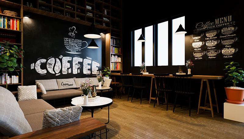 3 bí quyết giúp thiết kế quán cafe ấn tượng và hút khách hơn - 01