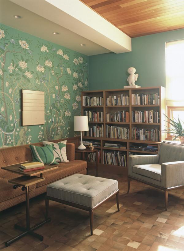 Mẫu thiết kế nội thất nhà ống mang phong cách retro - 03