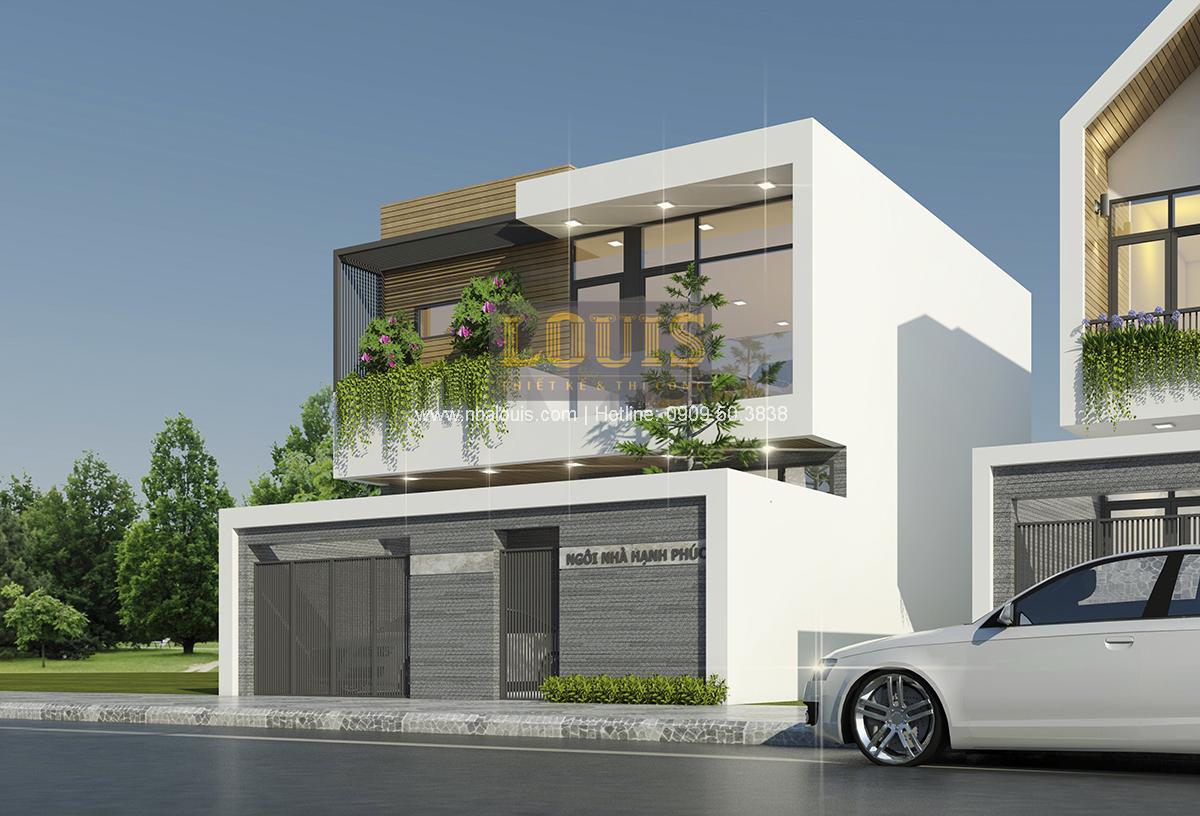 Phong cách thiết kế biệt thự hiện đại cập nhật xu hướng mới - 01