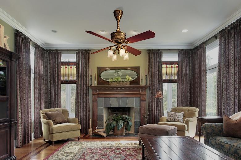 Trang trí nhà bằng quạt trần, xu hướng mới