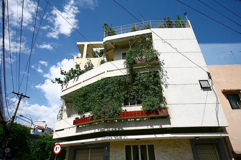Gợi ý vườn treo cho cho nhà phố - đưa mảng xanh lên cao