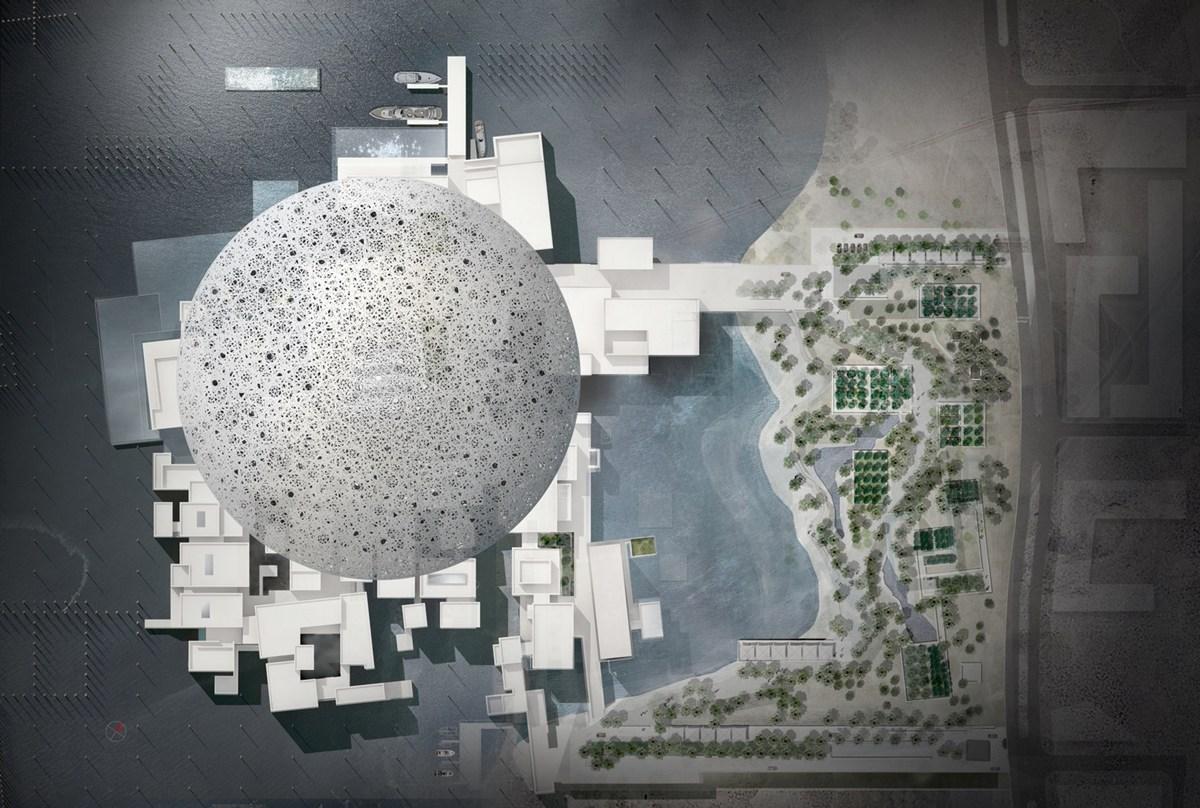 Khám phá bảo tàng Louvre ở Abu Dhabi điểm nhấn ở chiếc mái vòm độc đáo