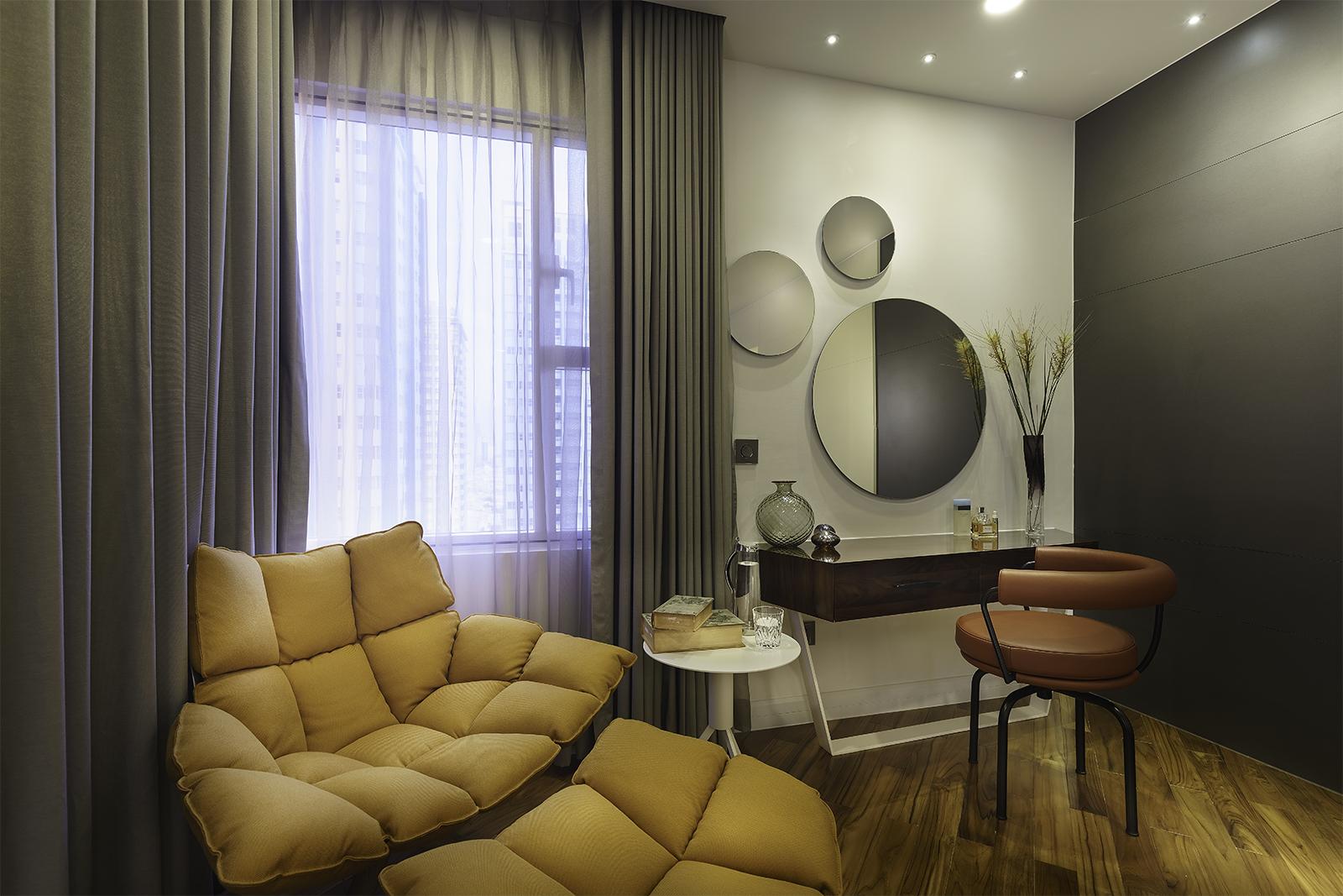 Nội thất cho căn hộ cao cấp liền kề đề cao tính thẩm mỹ