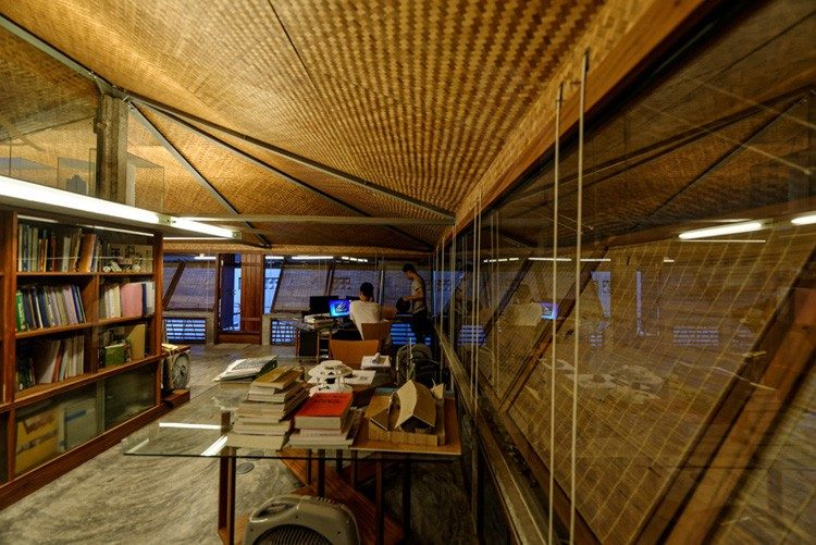 Công trình nhà tre và đất nung - giữ lại một chút hồn Hà Nội xưa
