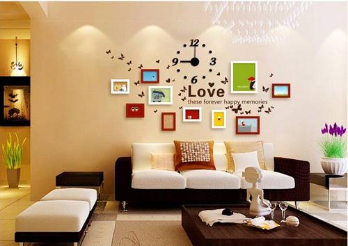 Muôn vàn kiểu trang trí tường nhà đơn giản đẹp miễn chê