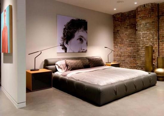 Thiết kế phòng ngủ ấn tượng với chất liệu đơn giản và tiết kiệm