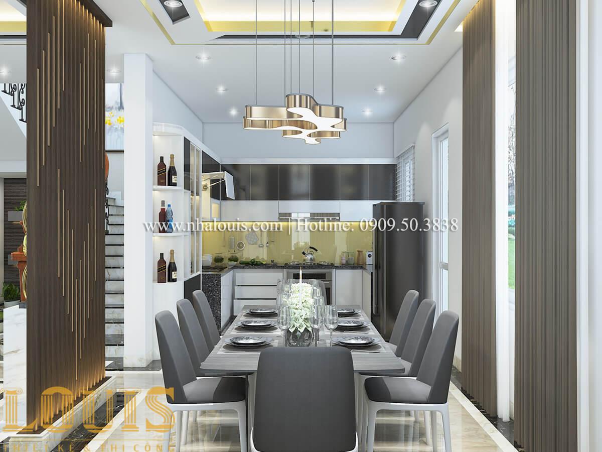 Bếp và phòng ăn Nội thất biệt thự hiện đại đẹp mê li tại Vũng Tàu - 07