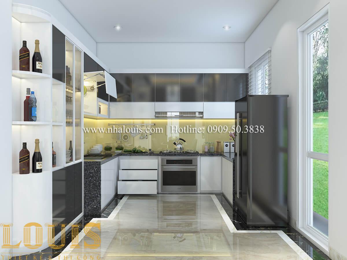 Bếp và phòng ăn Nội thất biệt thự hiện đại đẹp mê li tại Vũng Tàu - 08