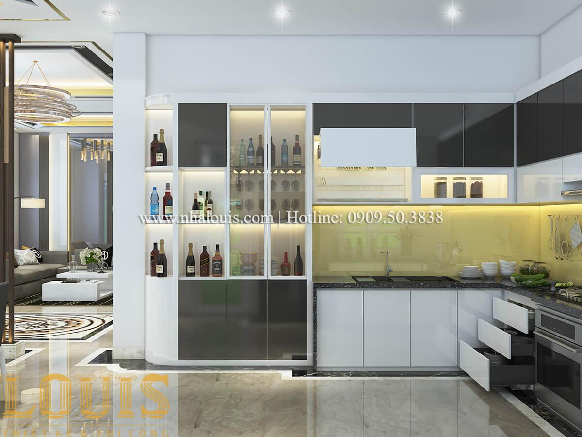 Bếp và phòng ăn Nội thất biệt thự hiện đại đẹp mê li tại Vũng Tàu - 09