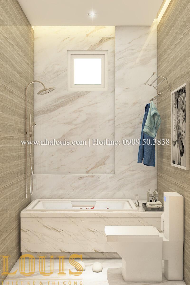 Phòng tắm và WC Nội thất biệt thự hiện đại đẹp mê li tại Vũng Tàu - 11