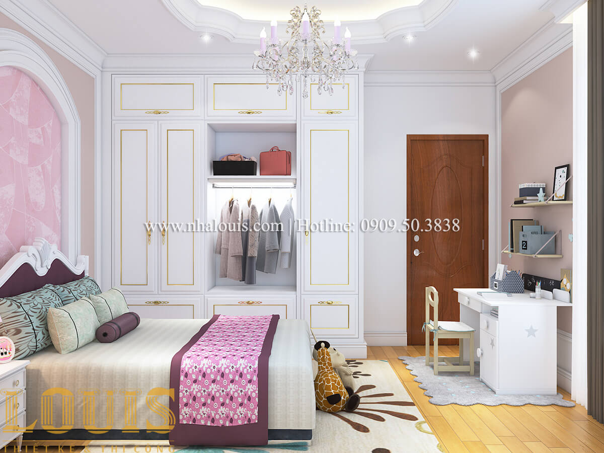 Phòng ngủ Nội thất biệt thự hiện đại đẹp mê li tại Vũng Tàu - 17
