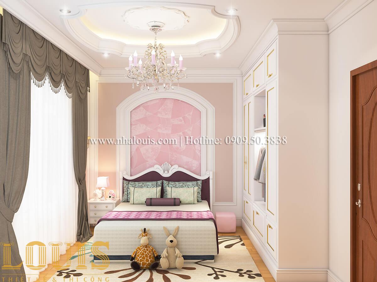 Phòng ngủ Nội thất biệt thự hiện đại đẹp mê li tại Vũng Tàu - 18