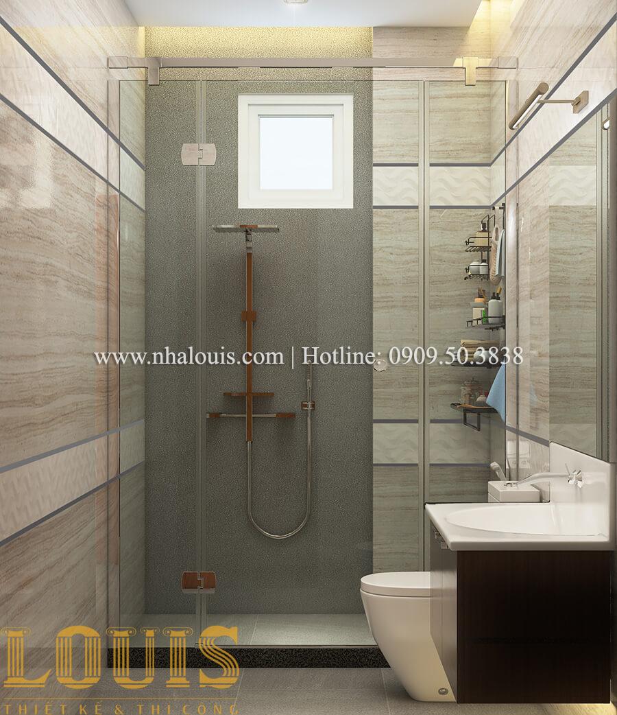 Phòng tắm và WC Nội thất biệt thự hiện đại đẹp mê li tại Vũng Tàu - 20