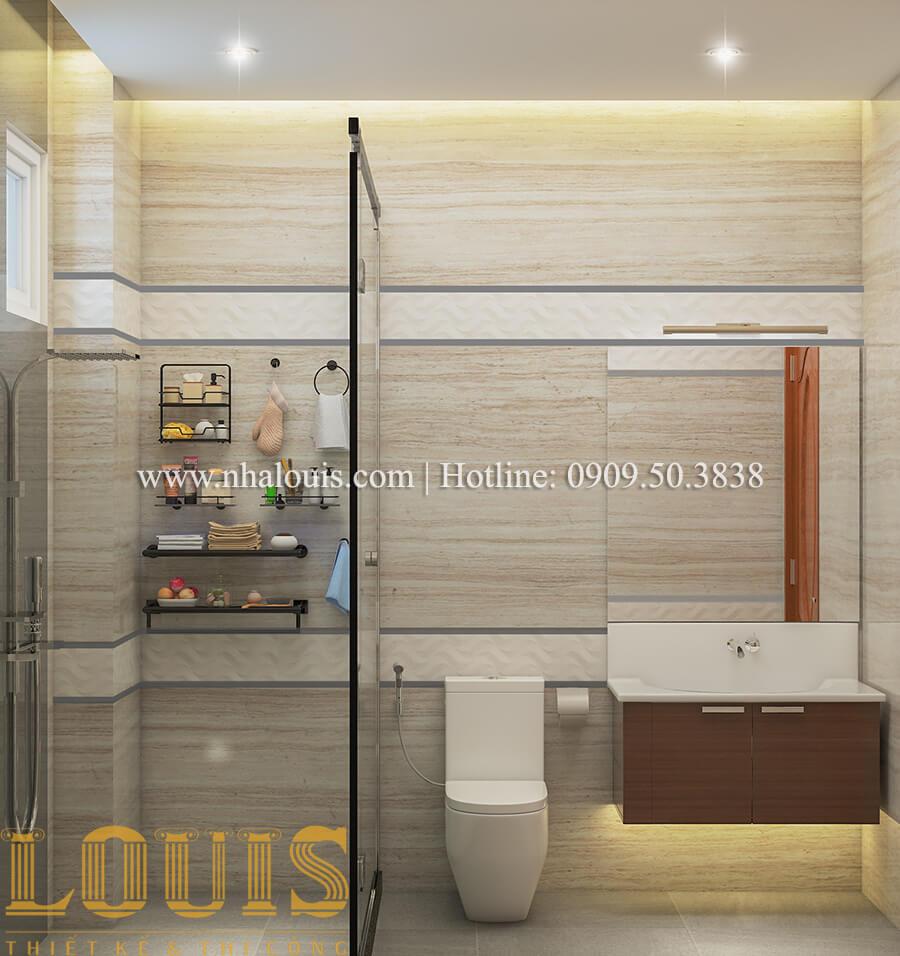 Phòng tắm và WC Nội thất biệt thự hiện đại đẹp mê li tại Vũng Tàu - 21