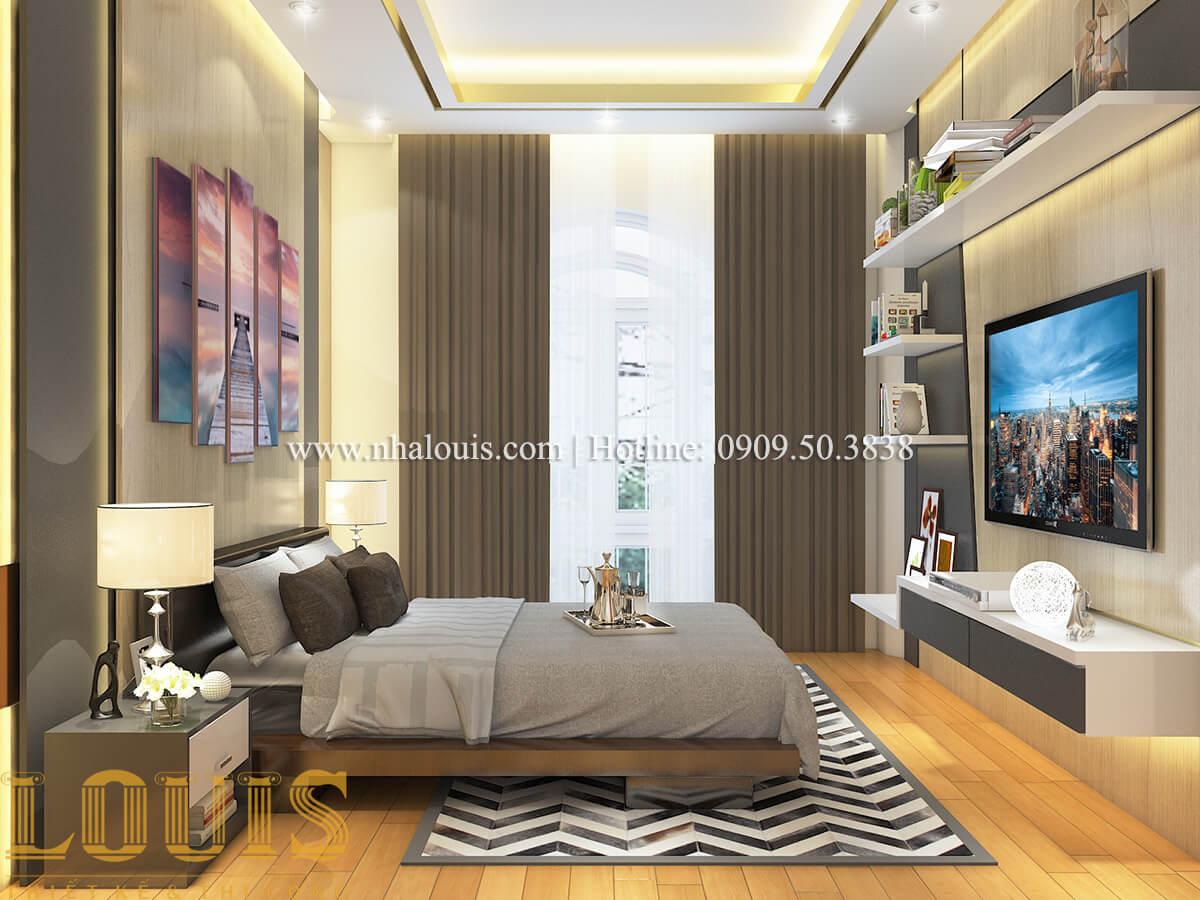 Phòng ngủ Nội thất biệt thự hiện đại đẹp mê li tại Vũng Tàu - 31