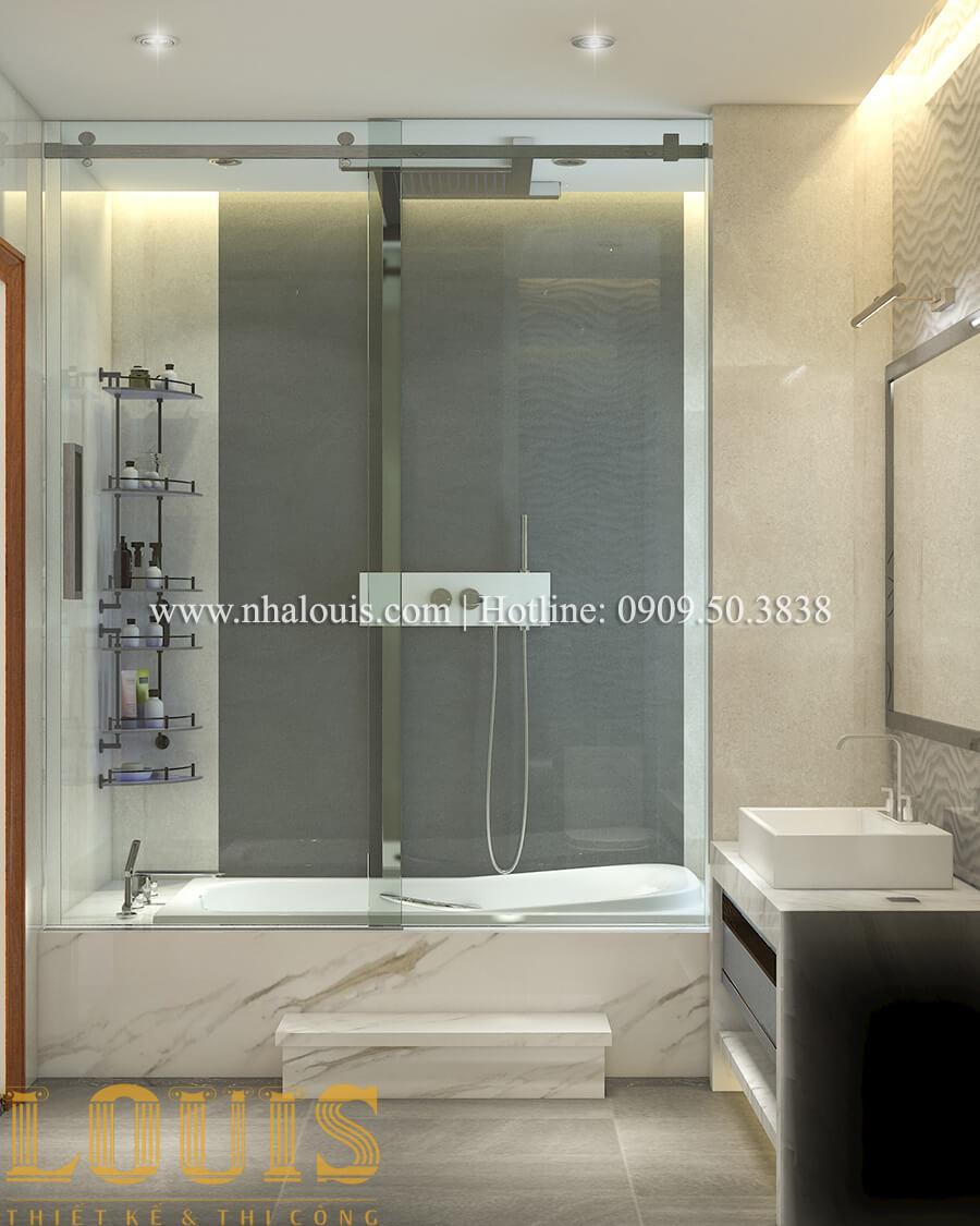 Phòng tắm và WC Nội thất biệt thự hiện đại đẹp mê li tại Vũng Tàu - 33