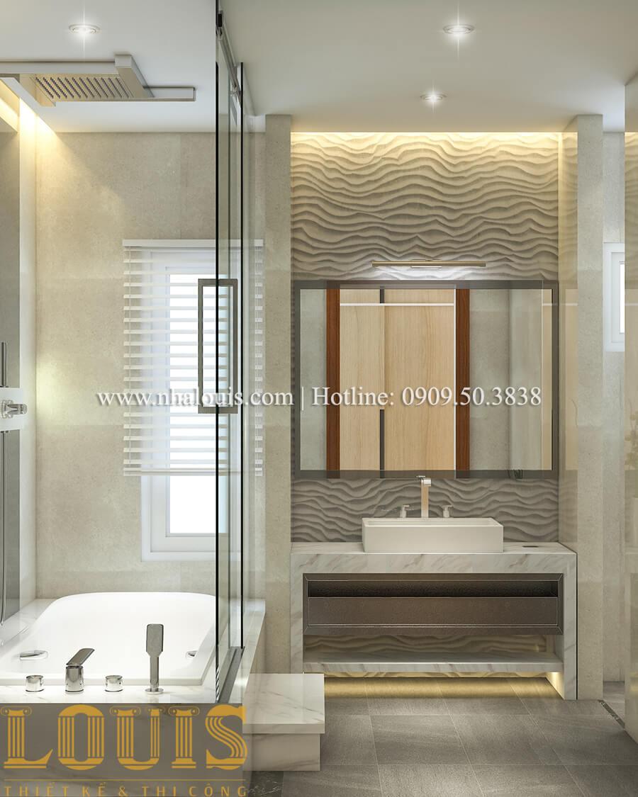 Phòng tắm và WC Nội thất biệt thự hiện đại đẹp mê li tại Vũng Tàu - 35