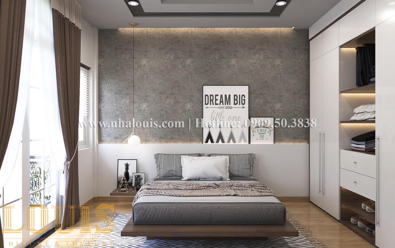 Phòng ngủ Thiết kế nhà ống có tầng lửng phong cách tân cổ điển tại Quận 6 - 20