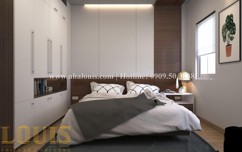 Phòng ngủ Thiết kế nhà ống có tầng lửng phong cách tân cổ điển tại Quận 6 - 23