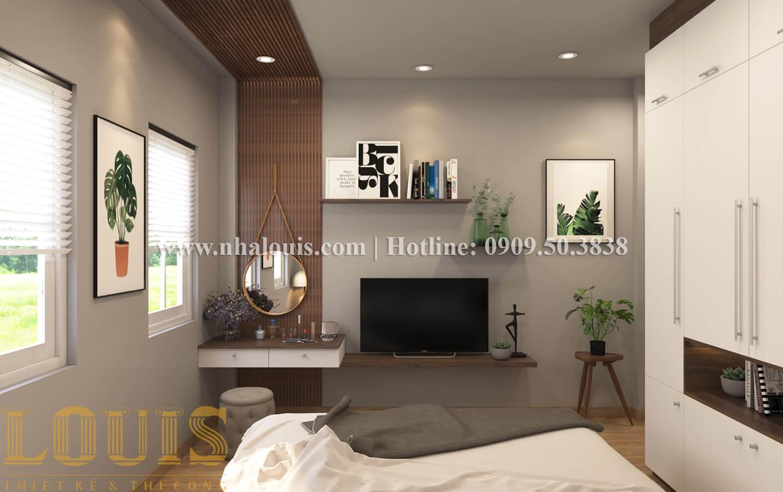 Phòng ngủ Thiết kế nhà ống có tầng lửng phong cách tân cổ điển tại Quận 6 - 24