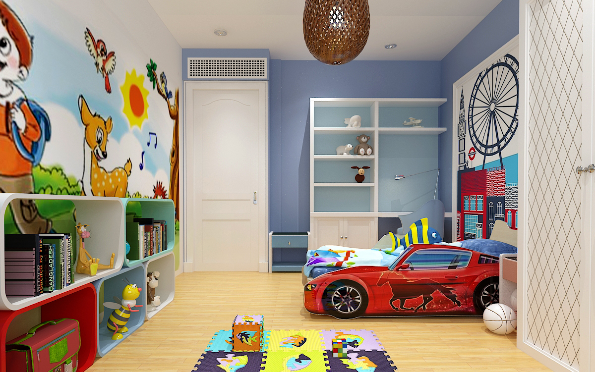 4 gợi ý thiết kế phòng ngủ cho bé trai đầy sáng tạo 01