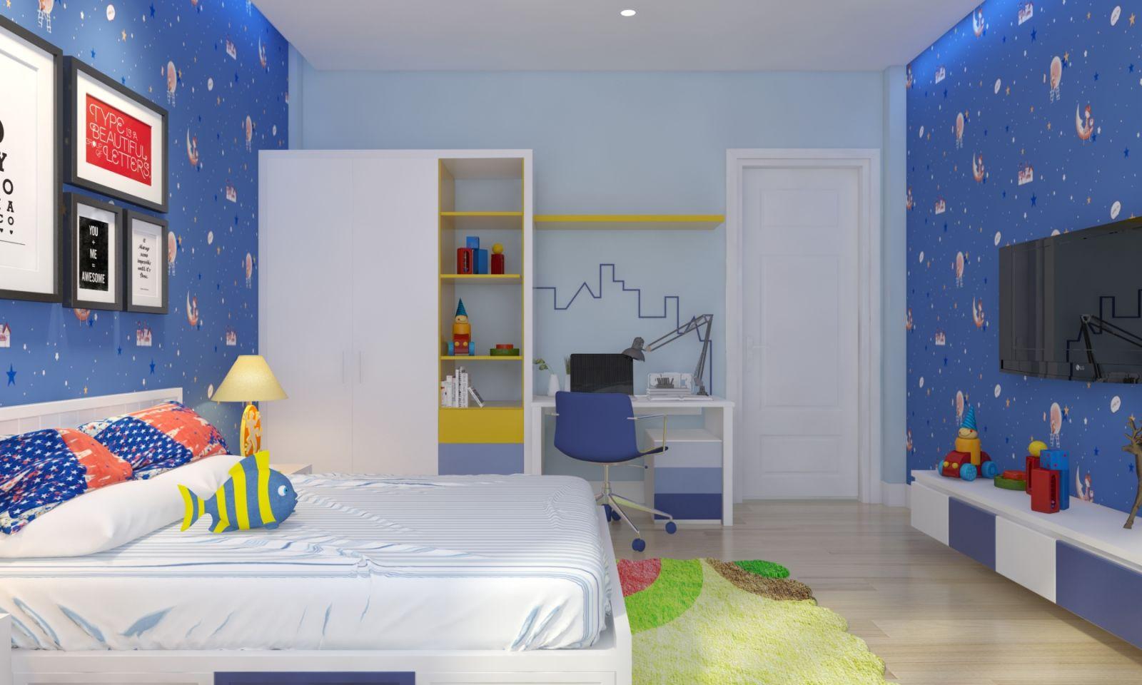 4 gợi ý thiết kế phòng ngủ cho bé trai đầy sáng tạo 03