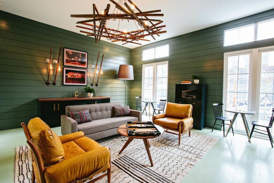 6 kiểu trang trí nội thất phòng khách đẹp theo phong cách Retro độc đáo 01