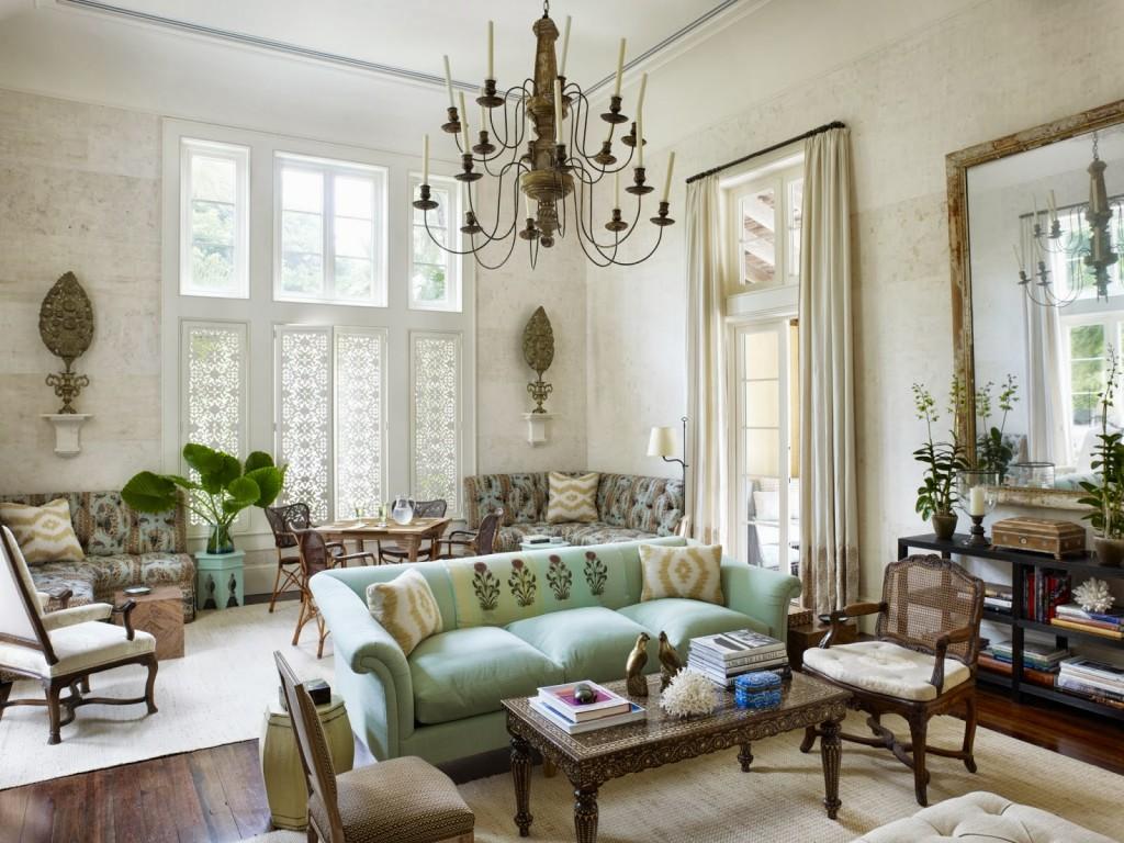 6 kiểu trang trí nội thất phòng khách đẹp theo phong cách Retro độc đáo 06