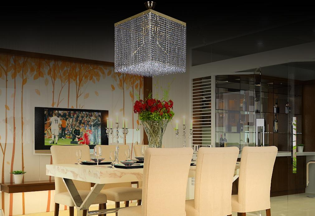 Gợi ý cách thiết kế phòng ăn đẹp chuẩn không gian sang trọng 05