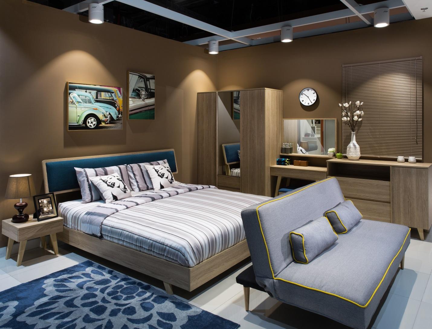 Mẹo bố trí đèn phòng ngủ chuẩn không gian ấm cúng cho biệt thự