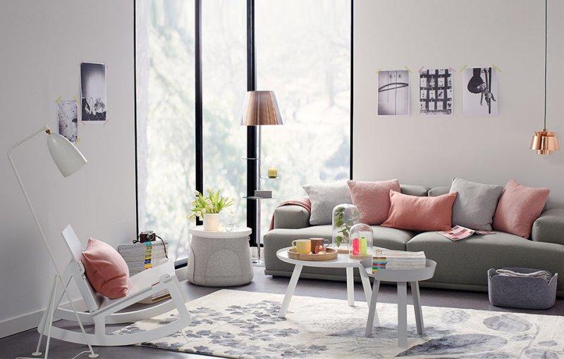 Mê đắm 6 không gian phòng khách đẹp sở hữu gam màu pastel vi diệu