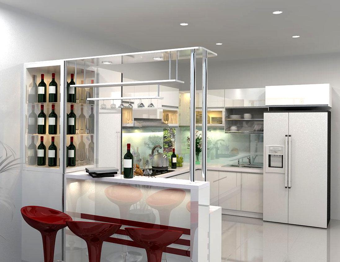 Phải làm gì để thiết kế quầy bar gia đình đẹp như nhà hàng 04
