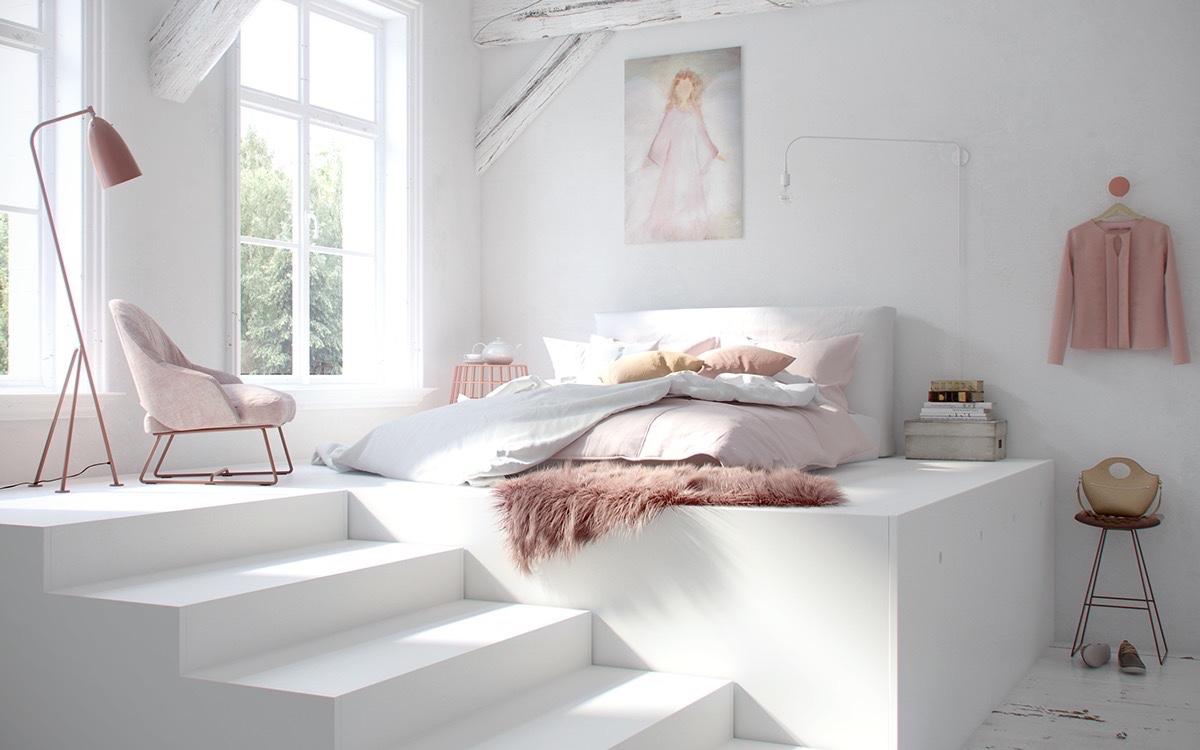Tổng hợp 10 màu sơn phòng ngủ đẹp để bạn say giấc nồng 09
