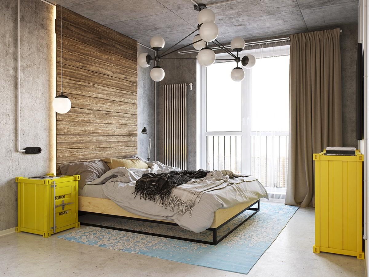 Chiều cao trần thấp kết hợp với một không gian nhà nhỏ sẽ giúp bạn cảm thấy ấm cúng, dễ chịu