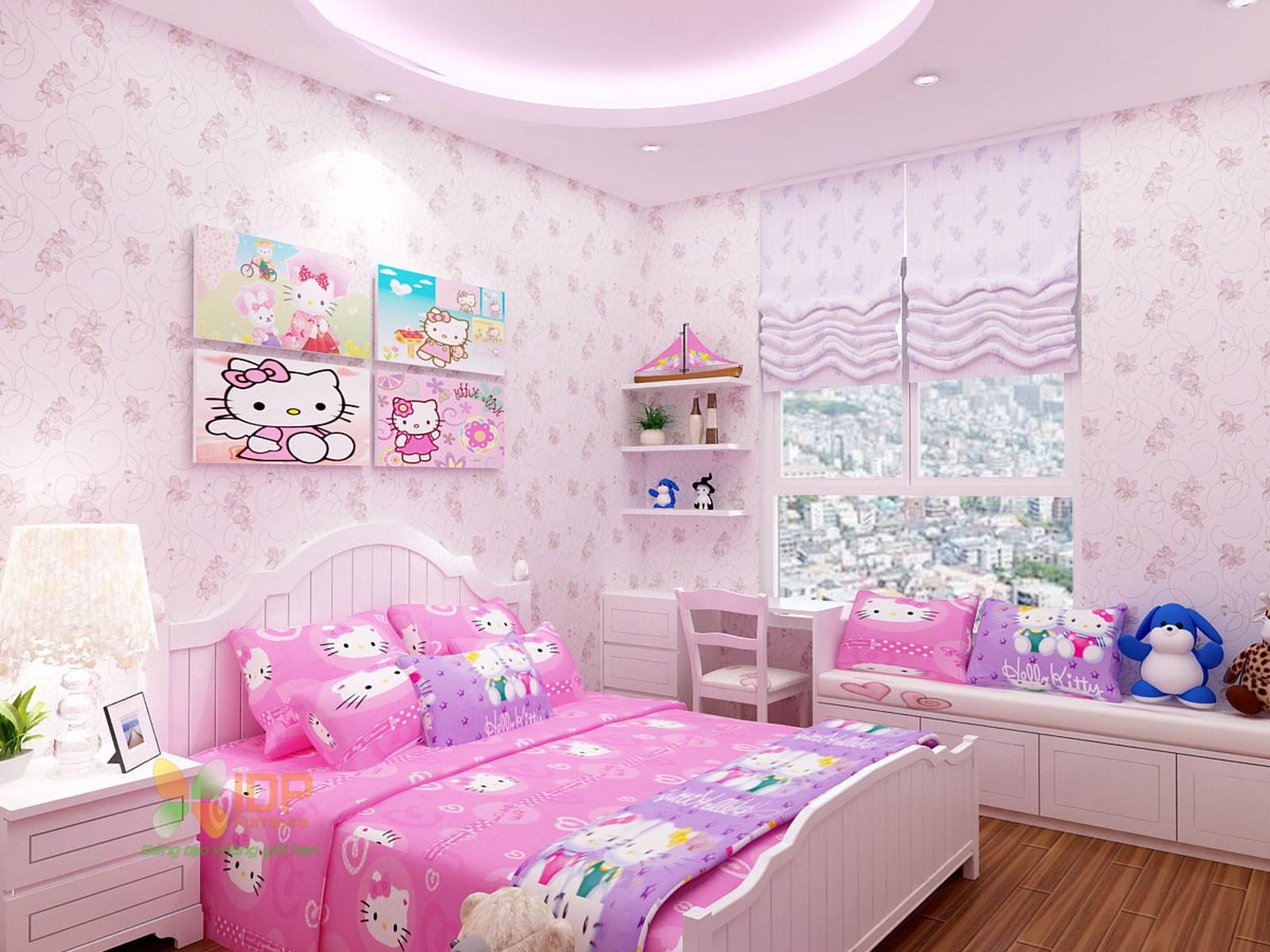 Trước khi thiết kế phòng ngủ cho con gái, bạn cần tìm hiểu tâm lý và sở thích thực sự của trẻ
