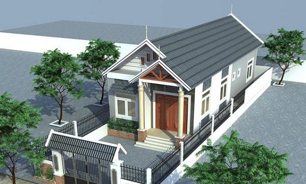 Dự toán chi phí xây nhà cấp 4 60m2