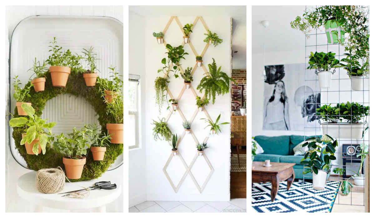 Vườn treo là một trong những thiết kế không gian đẹp, mang xu hướng hiện đại